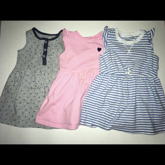 64666d87c Carter's Dresses   Carters Baby Girl Set Of 3 18 Months   Poshmark